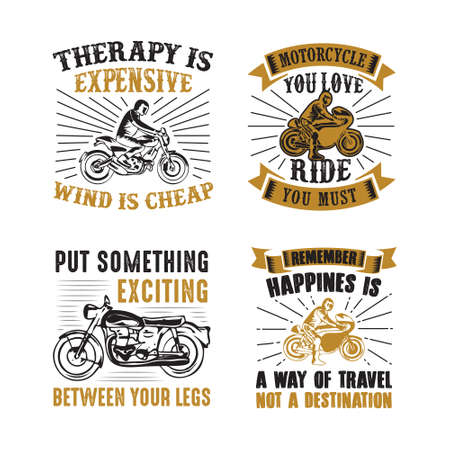 Rider Quote and Saying. 100 vector best for graphic in your goods