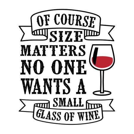 Wine Saying Quote Set, mejor para diseño de impresión