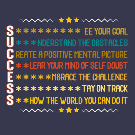 Success Quote and Saying. How the world you can do it.