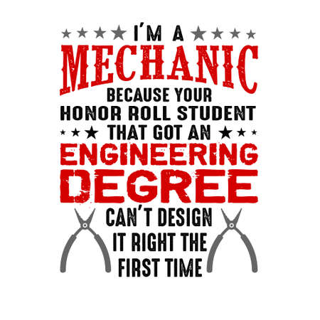 I m a mechanic because your honor. Mechanic quote and saying
