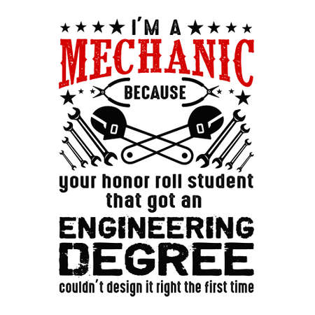 I m Mechanic because your honor. Mechanic quote and saying