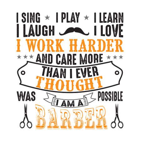 I sing I play I learn I laugh I love Ilustração