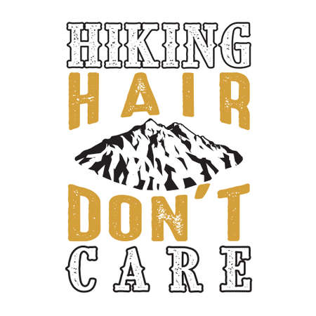 Hiking Hair don t care