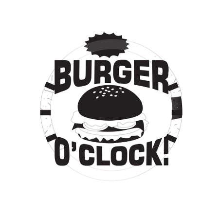 Burger Quote and saying. It s burger o clock