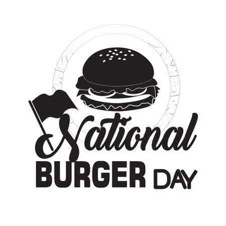 Burger Quote and saying. national burger day