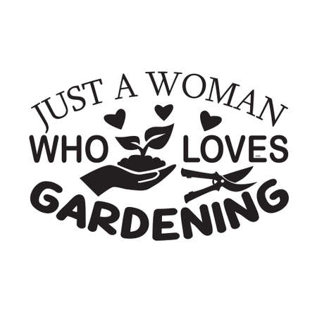 Gardening Quote. I love gardening from my head tomatoes