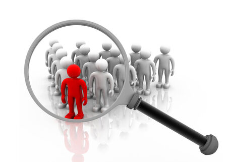 loupe: Searching for the right person