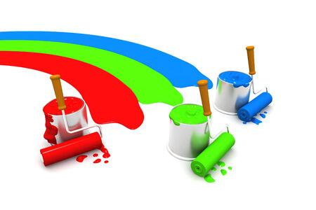 chromic: RGB paint cans