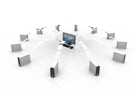 transferring: file sharing concept, Data transferring