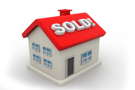 Sold Home Sign   photo
