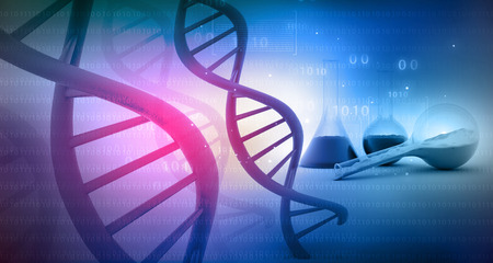 labratory: DNA with lab. science background