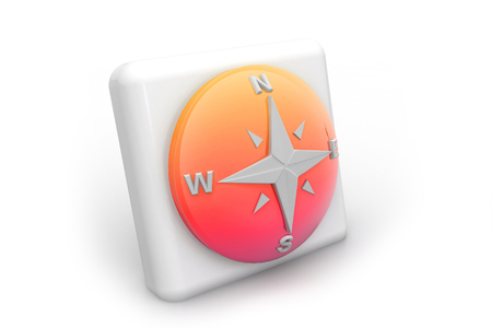 Compass icon    photo