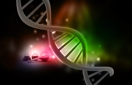 DNA, medical and research subjects.  photo