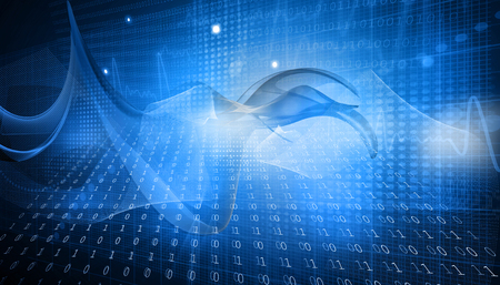 binary background   Stock Photo