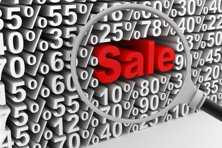 70 75: Sale and percentages