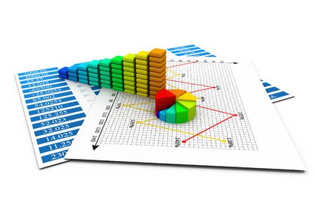 height chart: Business Graph