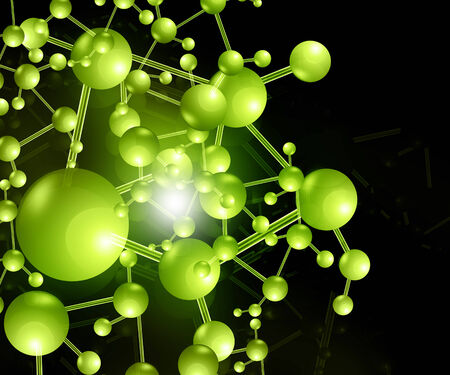 substances: molecule background