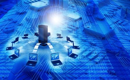 Information Technology achtergrond Stockfoto - 30648588