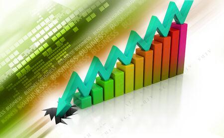 decline: Graph showing business decline