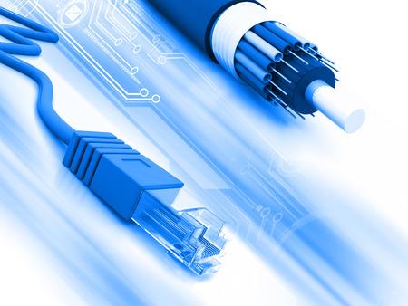 Netzwerk-Kabel  Lizenzfreie Bilder