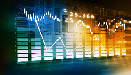 stock ticker: Stock Market Graph