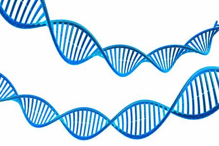 genomes: 3d render of DNA molecules