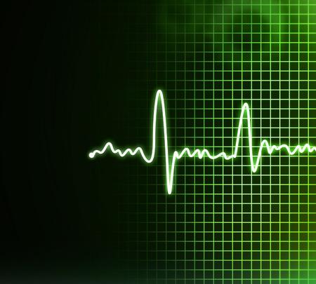 oscillate: Electrocardiogram background