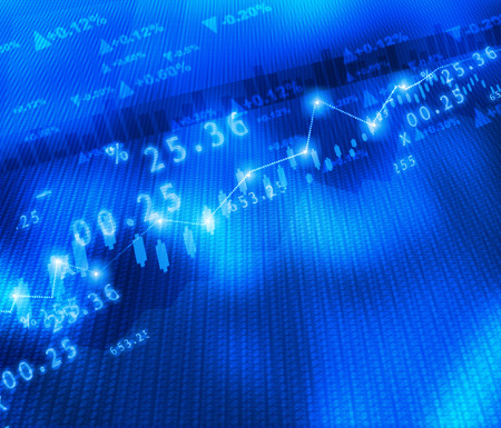 Display of Stock market graph