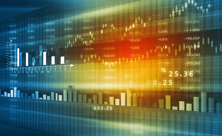 market analyze: Stock market graphs