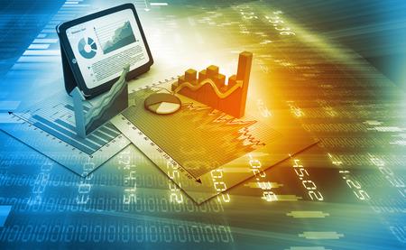 Akciový trh grafy