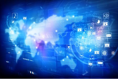 El mundo digital, la tecnología mundial de Internet