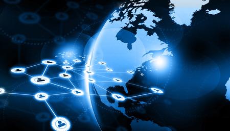 Business-Netzwerk-Konzept Lizenzfreie Bilder