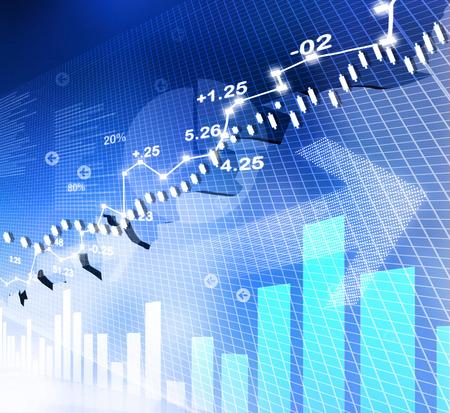 주식 시장 차트, 그래프