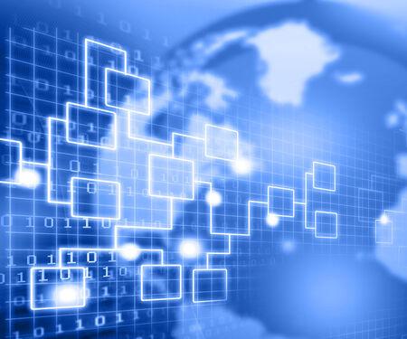 recruitment icon: Business Network  flow chart concept