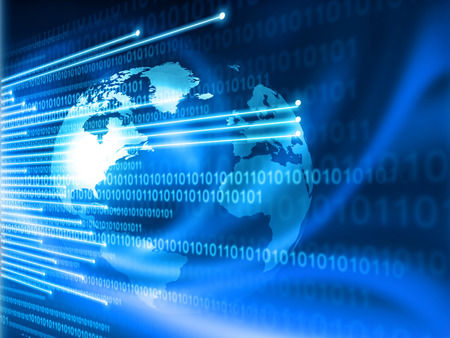 Concept de la technologie de l'Internet mondial Banque d'images - 37297554