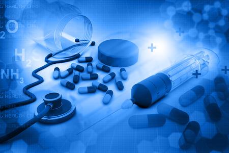 건강 관리 배경 스톡 콘텐츠