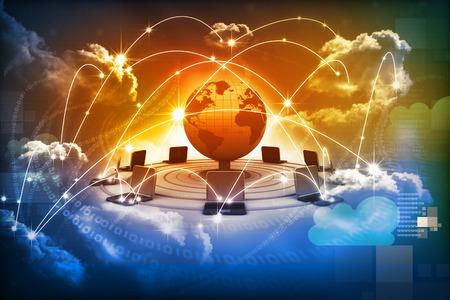 클라우드 컴퓨팅 개념, 글로벌 컴퓨터 네트워크