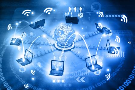 Global Computer network Reklamní fotografie