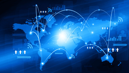 Globale Vernetzung von Wirtschaft