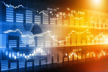 stock: stock market chart , Financial background