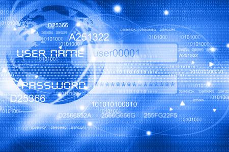 Global Internet-Konzept-Hintergrund Standard-Bild