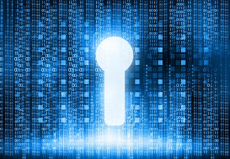 Internet-Sicherheitskonzept Design Standard-Bild - 39170237