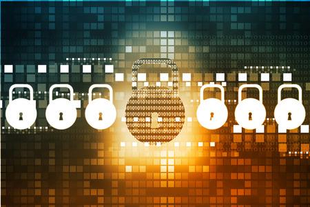 인터넷 보안 개념, 패드 잠금 컴퓨터 네트워크