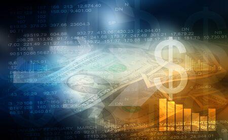 Stock exchange background