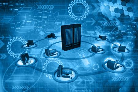 클라우드 컴퓨팅 네트워크, 추상적 인 배경