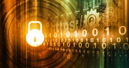 peligro: Concepto de seguridad de Internet