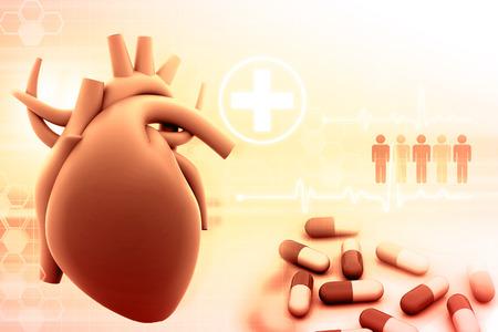 vascular: human heart and modem medicines