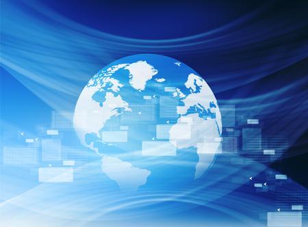 internet connection: Global internet connection concept