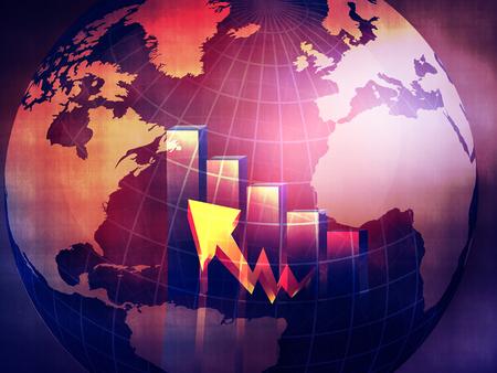 nasdaq: Best concept of business background Stock Photo
