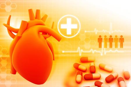 human heart: corazón y módem medicamentos humanos